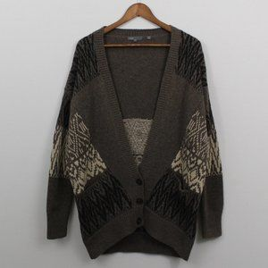 Vince Long Sleeve Button Down Sweater Cardigan